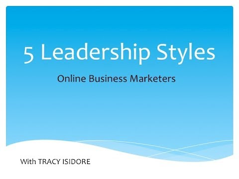 Leadership Styles | What is Your Leadership Style? – 3rd